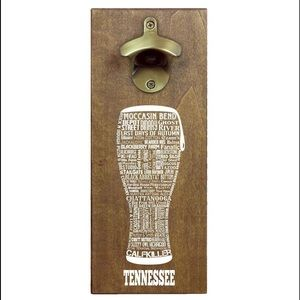 Torched Tennessee Bottle Opener Ft. Craft Brewerie